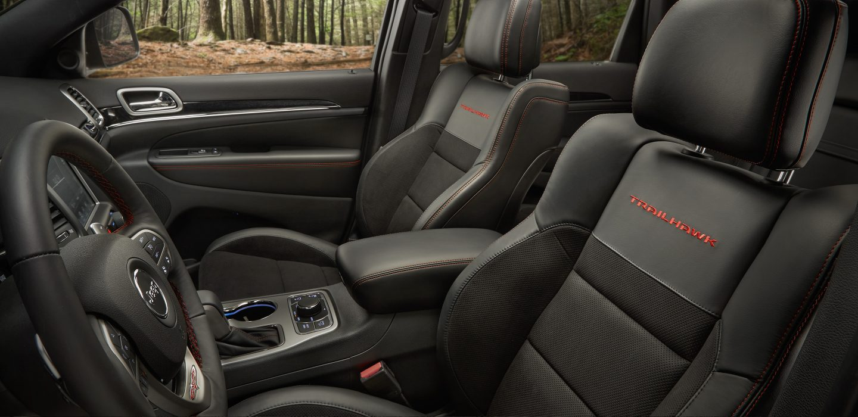 Jeep 2008 jeep grand cherokee interior : 2017 Jeep Grand Cherokee Trailhawk 4x4 | Rainbow Chrysler
