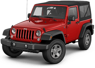 2020 Jeep Wrangler Unlimited Front Exterior Red