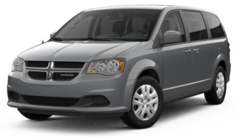 2018 Dodge Grand Caravan Front Gray Exterior