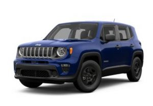 2019 Jeep Renegade Front Exterior Blue