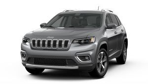 2020 Jeep Cherokee Silver Front Exterior Picture