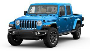 2020 Jeep Gladiator Blue Front Exterior Picture