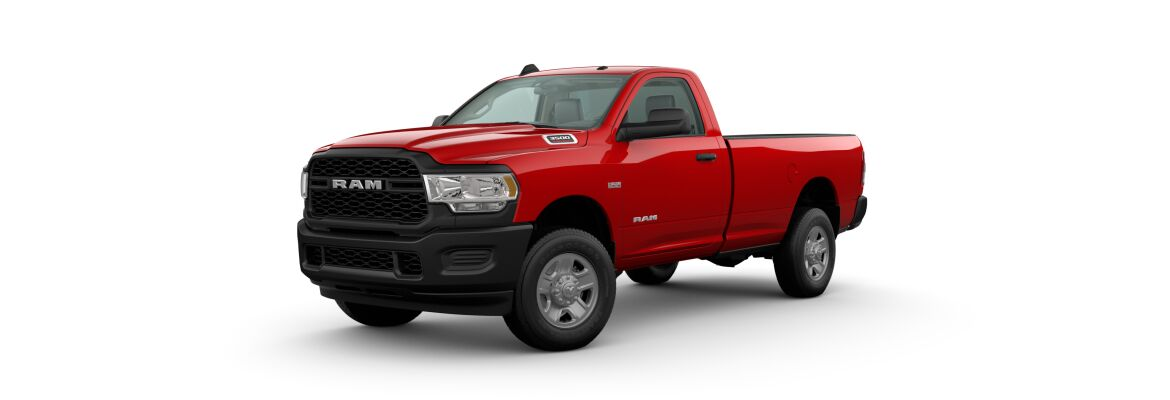 2020 Ram 3500 Red Front Exterior Picture