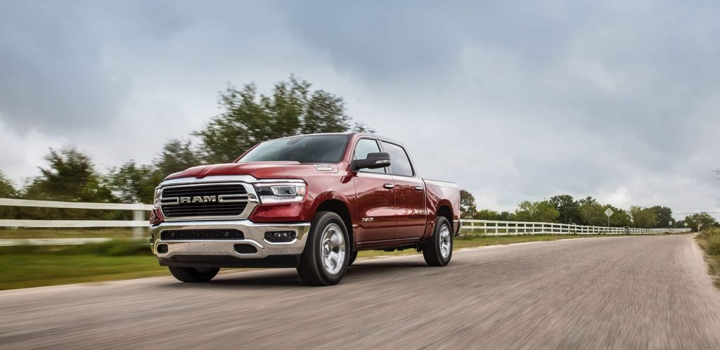2021 Ram 1500 Red Front Exterior Picture